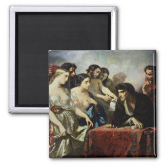 The Love of Gold, 1844 Refrigerator Magnet