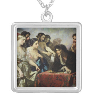 The Love of Gold, 1844 Silver Plated Necklace