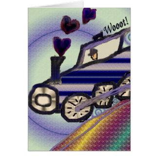 The Love Train Card