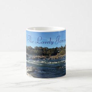 The Lovely James River Photo Coffee Mug