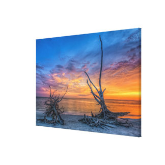The Lover Trees Canvas Print