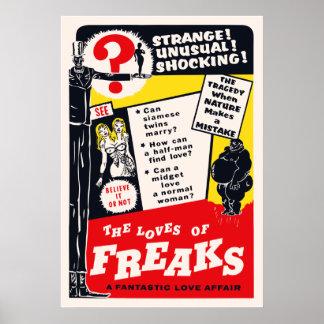The Loves of Freaks Poster