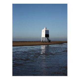 The Low Lighthouse, Burnham on Sea, Somerset, UK Postcard