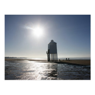 The Low Lighthouse, Burnham on Sea, Somerset, UK Postcard