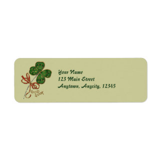 The Luck O The Irish Address Labels