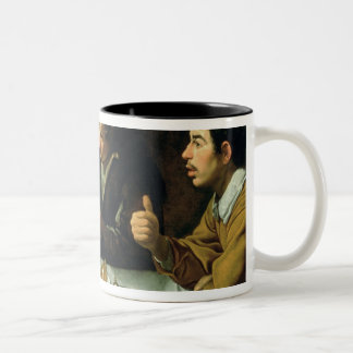 The Lunch, 1620 Two-Tone Coffee Mug