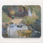 The Luncheon: Monet's garden at Argenteuil Mouse Pad