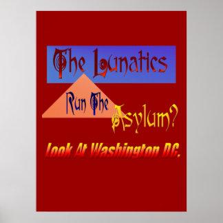 The Lunitics Run The Asylum? Poster
