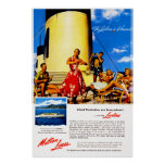 The Lurline is Hawaii Posters