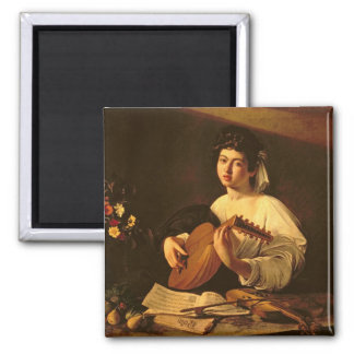The Lute Player, c.1595 Refrigerator Magnets