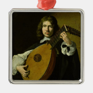 The Lute-Player Christmas Ornament