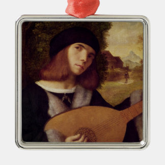 The Lute Player Christmas Ornament