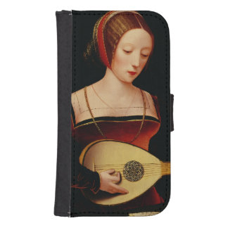 The Lute Player Samsung S4 Wallet Case