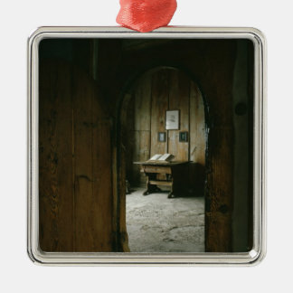 The Luther Room in the Wartburg Castle Christmas Ornament