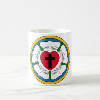 The Luther Rose Lutheranism Martin Luther Mugs
