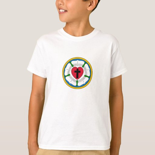 The Luther Rose Lutheranism Martin Luther T-Shirt