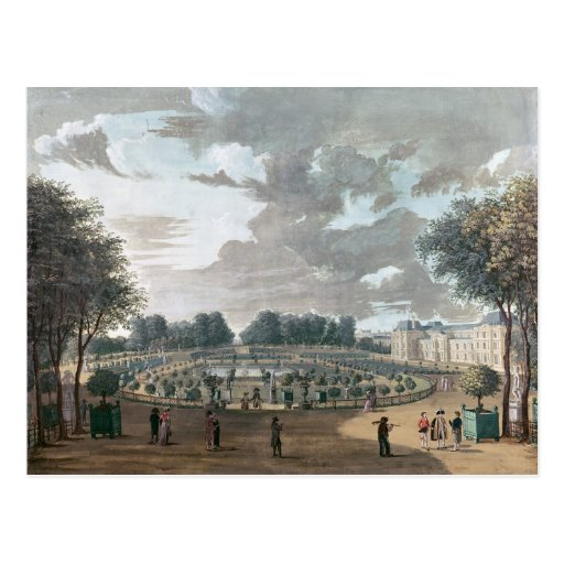 The Luxembourg Gardens Postcards
