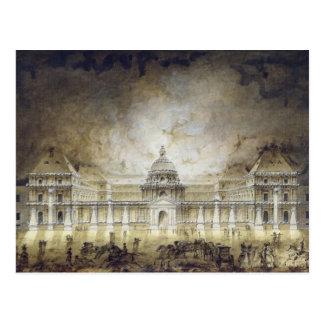 The Luxembourg Palace Illuminated Postcard