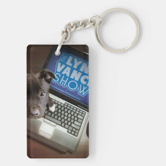The Lynn Vance Show double sided dogs Double-Sided Rectangular Acrylic Key Ring