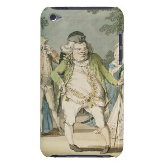 The Macaroni, 1774 (w/c on paper) Case-Mate iPod Touch Case