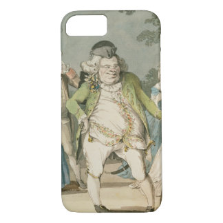 The Macaroni, 1774 (w/c on paper) iPhone 8/7 Case