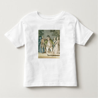 The Macaroni, 1774 (w/c on paper) Toddler T-Shirt