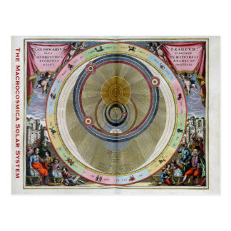 The Macrocosmica Solar System Postcard