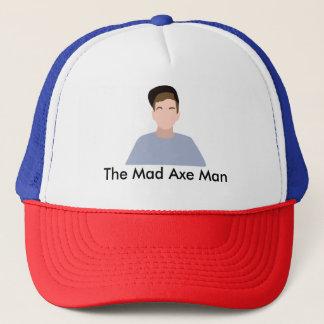 The Mad Axe Man Trucker hat