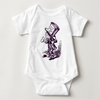 The Mad Hatter Baby Bodysuit