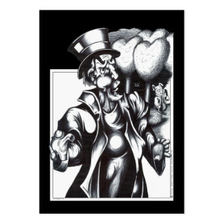 The Mad Hatter Large Business Cards (Pack Of 100)