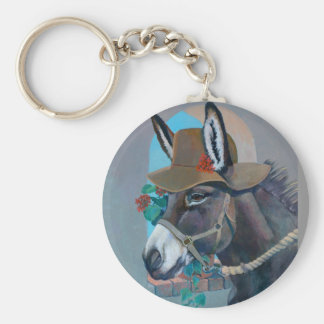 The Mad Hatter by Kathy Morrow Key Ring
