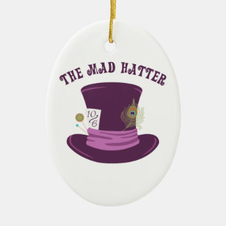 The Mad Hatter Christmas Ornament