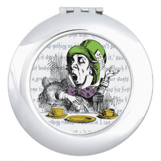 The Mad Hatter Compact Mirror