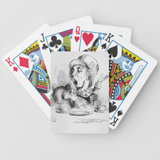 The Mad Hatter, illustration from 'Alice's Poker Deck