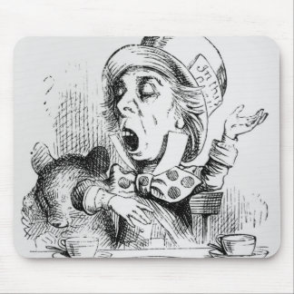 The Mad Hatter Mouse Mat