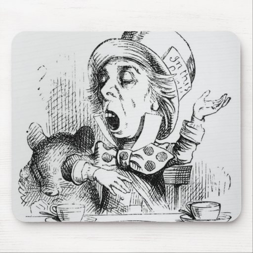 The Mad Hatter Mousepad