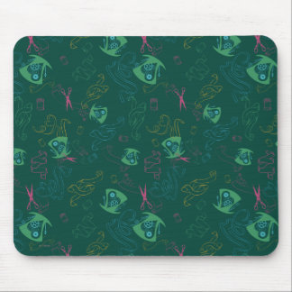 The Mad Hatter Pattern Mouse Mat