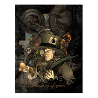 The Mad Hatter Post Cards