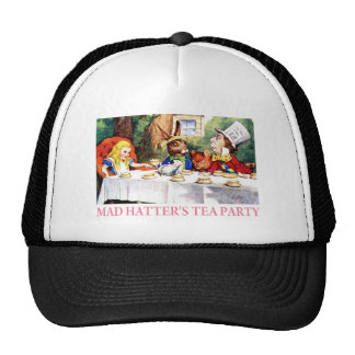THE MAD HATTER S TEA PARTY TRUCKER HAT