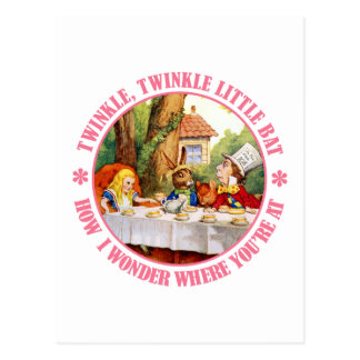 The Mad Hatter s Tea Party Recital Postcards