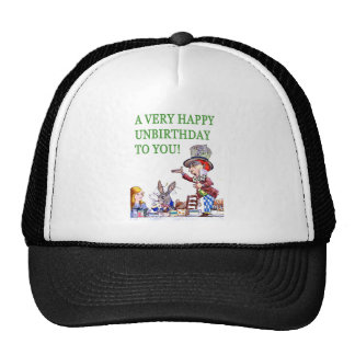 The Mad Hatter Says, A Very Happy Birthday To You! Cap