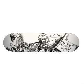 The Mad Hatter Skateboard Decks