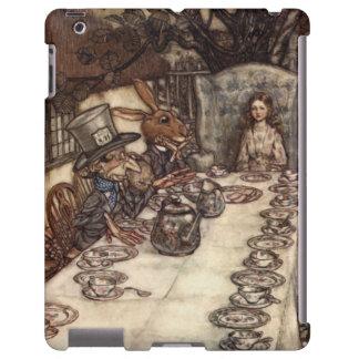 The Mad Hatter Tea Party by Arthur Rackham iPad Case