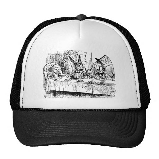 The Mad Hatter's Tea Party Trucker Hats