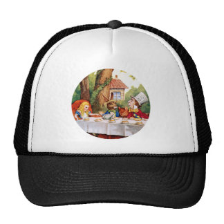 THE MAD HATTER'S TEA PARTY TRUCKER HAT