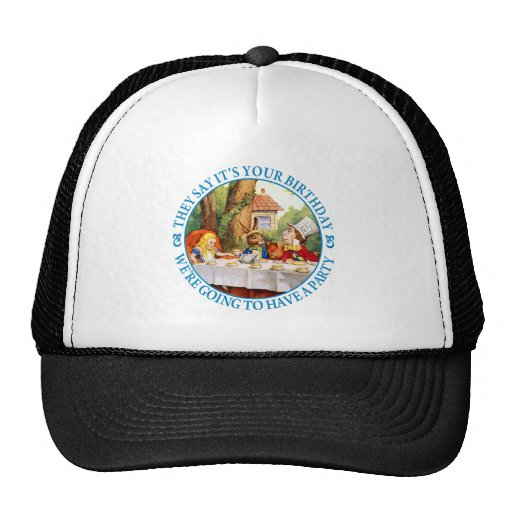 THE MAD HATTER'S TEA PARTY MESH HAT