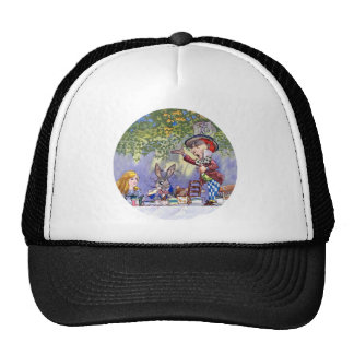 THE MAD HATTERS TEA PARTY TRUCKER HAT