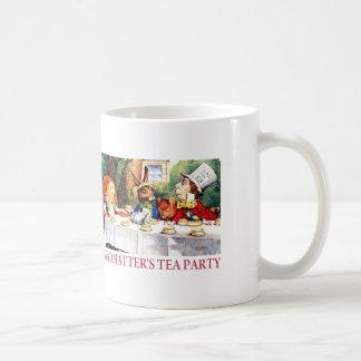 THE MAD HATTER'S TEA PARTY BASIC WHITE MUG