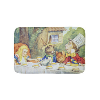 The Mad Hatter's Tea Party Bath Mats