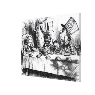 The Mad Hatter's Tea Party Canvas Print